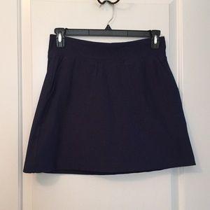 NIKE Golf Dri-Fit Skirt Skort Navy Blue Size Med.